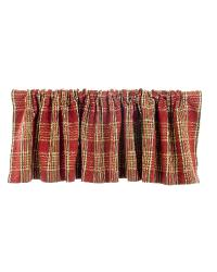 Carson Plaid Window Valance by