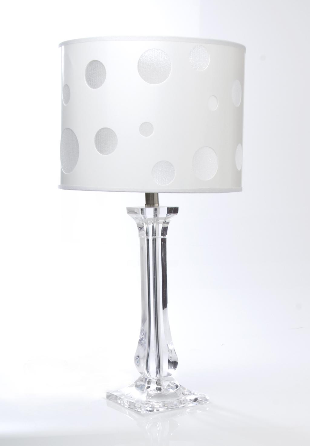 Clear lucite table lamp glenna jean interiordecorating clear lucite table lamp geotapseo Images