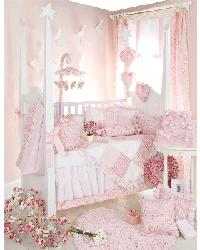 A Baby Girls Room Bedding