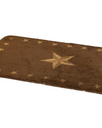 Star Bathroom Rug by