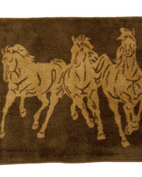 Running Horse Bathroom Rug by