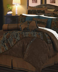 Del Rio Comforter Set - Super Queen by