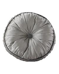 Buttoned Round Pillow by