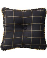 Ashbury Windowpane Tufted Pillow by