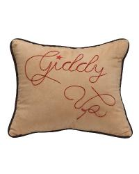 Giddy Up Accent Pillow by