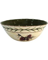 Pinecone Serving Bowls by