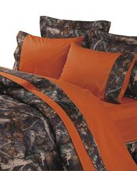Oak Camo Twin Sheet Set by