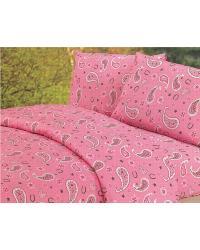 Pink Paisley Sheet Set by