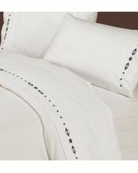 Embroidered Navajo Sheet Set by