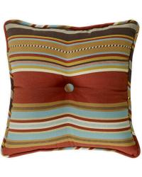 Calhoun Striped Tufted Pillow by