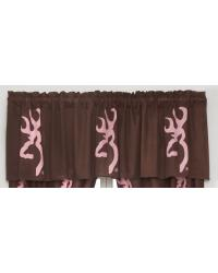 Browning Buckmark Pink Valance by