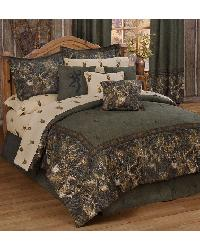 Browning Whitetails Comforter Set  4PCS  - Queen by