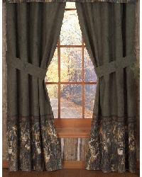 Browning Whitetails Rod Pocket Curtain Panels by