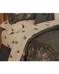 Browning Whitetails Sheet Set  4PCS  - Queen by