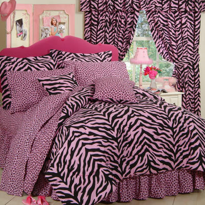 complete bedding sets on pink zebra print bedding set search results