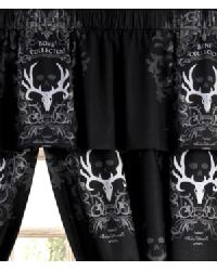 Bone Collector Black Valance by
