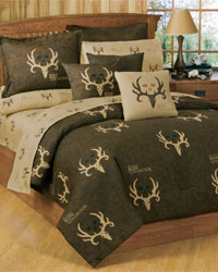 Bone Collector Brown Bedding