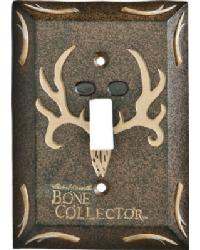 Bone Collector Single Lightswitch Cover by