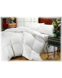 Tahoe Comforter - White Goose Down by