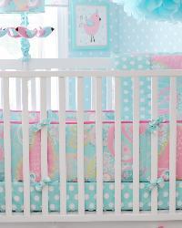 Pixie Baby Aqua Bedding