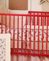 A Neutral Babys Room Bedding
