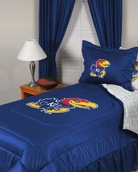 Kansas Jayhawks Locker Room Bedding by