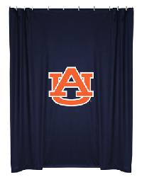 Auburn Tigers Locker Room Shower Curtain by