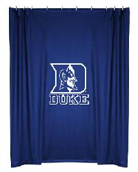 Duke Blue Devils Locker Room Shower Curtain by