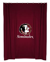 Florida State Seminoles Locker Room Shower Curtain by
