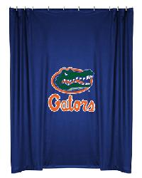 Florida Gators Locker Room Shower Curtain by