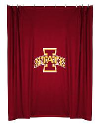 Iowa State Cyclones Locker Room Shower Curtain by