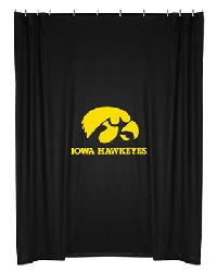 Iowa Hawkeyes Locker Room Shower Curtain by