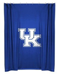 Kentucky Wildcats Locker Shower Curtain by
