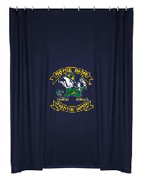 Notre Dame Fighting Irish Locker Room Shower Curtain by
