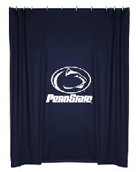 Penn State Lions Locker Room Shower Curtain by