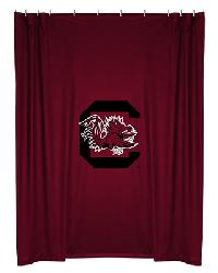 South Carolina Gamecocks Locker Room Shower Curtain by