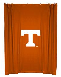 Tennessee Volunteers Locker Room Shower Curtain by