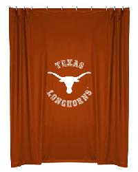 Texas Longhorns Locker Room Shower Curtain by