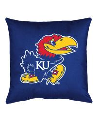 Kansas Jayhawks Locker Room Pillow by