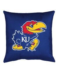 Kansas Jayhawks Locker Room Pillow by