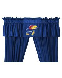 Kansas Jayhawks Window Valance by