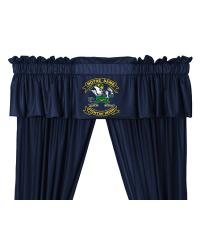 Notre Dame Fighting Irish Window Valance by