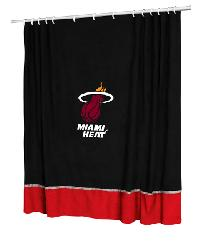 Miami Heat Shower Curtain by
