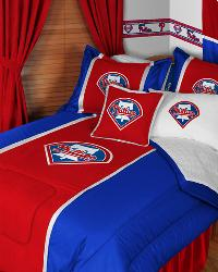 Philadelphia Phillies MLB Sidelines Bedding by