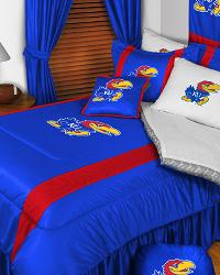 Kansas Jayhawks Sidelines Bedding by