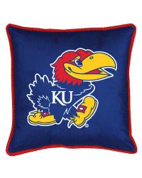 Kansas Jayhawks Sidelines Pillow by
