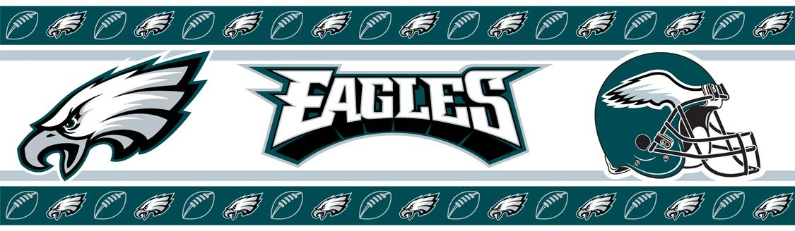 Philadelphia Eagles Nfl Wall Border Wallpaper