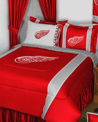 Detroit Red Wings NHL Bedding