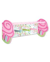 Cupcake Shelf With Pegs by