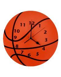 Wall Clock Basketball by